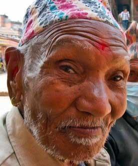 Nepali man